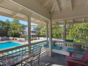 Private Screened In Porch overlooking Pool