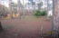 View of Lot looking toward the East. Mature trees and cleared areas of underbrush