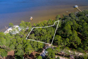 Amazing bay front lot on Choctawhatee Bay totaling 0.7 acres!