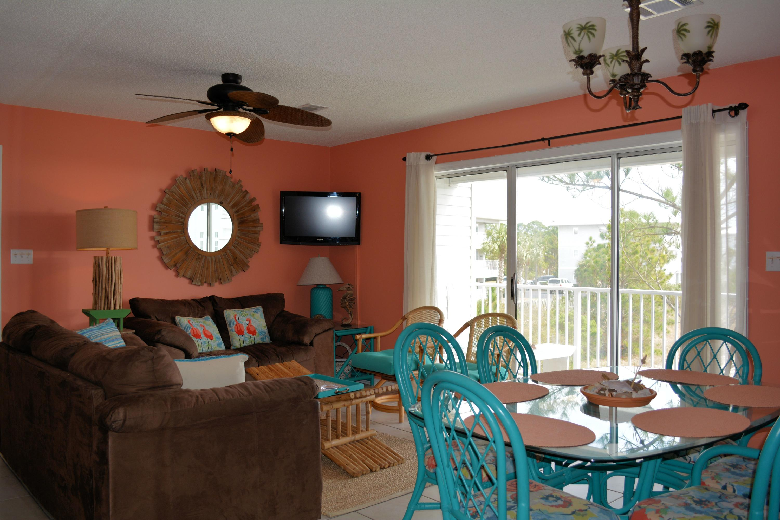UNIT IS BEING SOLD FURNISHED.  FRESHLY PAINTED IN TROPICAL COLORS. UNIT IS AN ESTIMATED 100 YARDS TO THE BEAUTIFUL GULF OF MEXICO AND THE PURE WHITE SANDY BEACHES.
