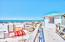 Amazing designated beach for SunDestin and rental kiosk for beach chairs, kayaks and paddle boards.