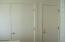 Owner's closet, HVAC