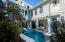 Pool and outdoor living and half bath
