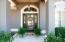 Welcoming Covered Entryway