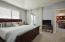 Master Bedroom Adjoins to Lanai with Sliding Doors