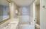 Original Art frames NEW Subway Tile. Kohler Tub includes Jetts. NEW Kohler High Profile Toilet.