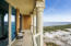 170 Sq. Feet of Covered Balcony. Unobstructed East Views of the Gulf Island National Seashore.