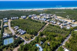 Lot 57 with gulf and state park views