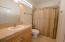 ensuite bathroom bedroom #2 third floor