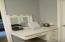 Single Vanity desk in Master Bath