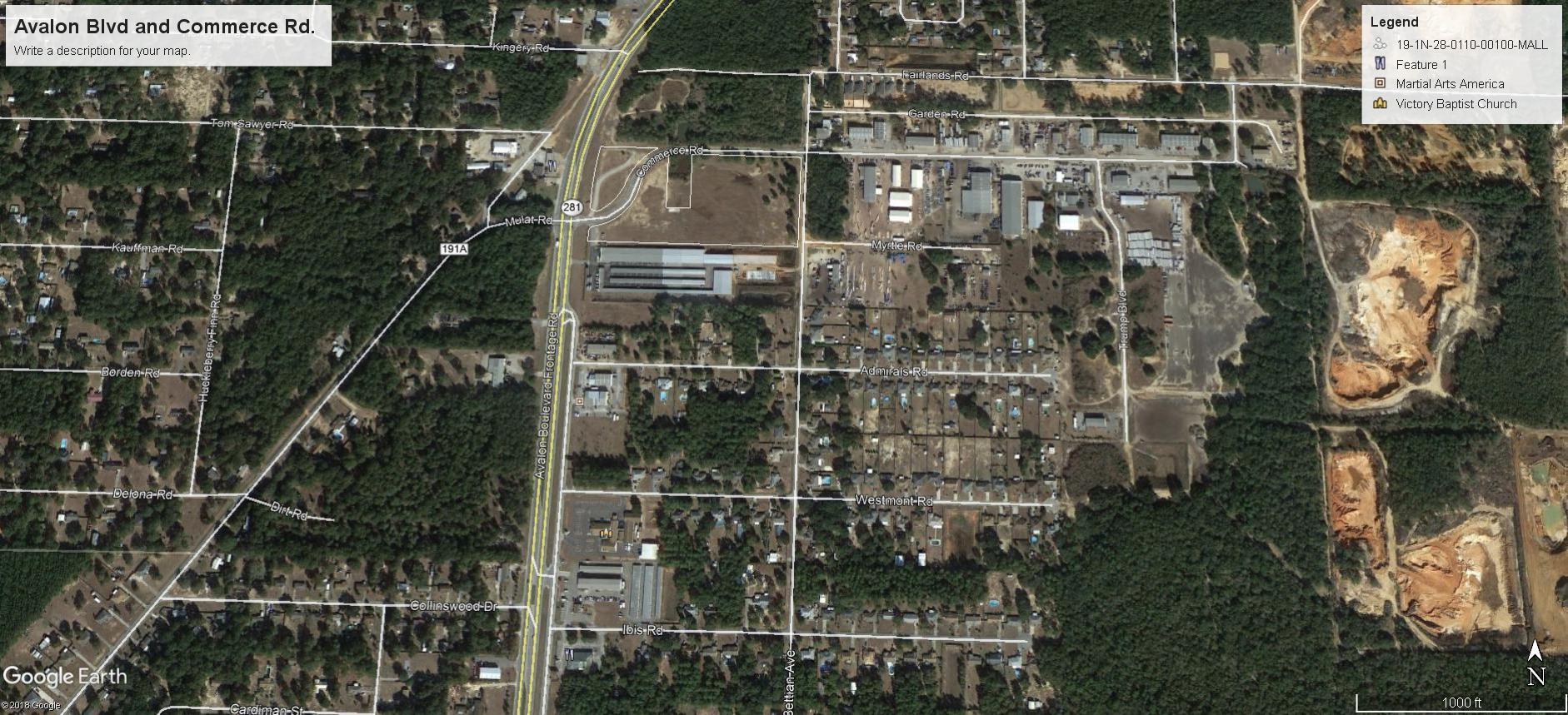 0 Avalon Boulevard, Milton, FL 32583