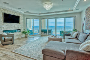 This incredible 4-bedroom Gulf front condo has been completely updated with countless luxury features (totaling $350k+). Every room offers a Gulf or Bay view - some with both!