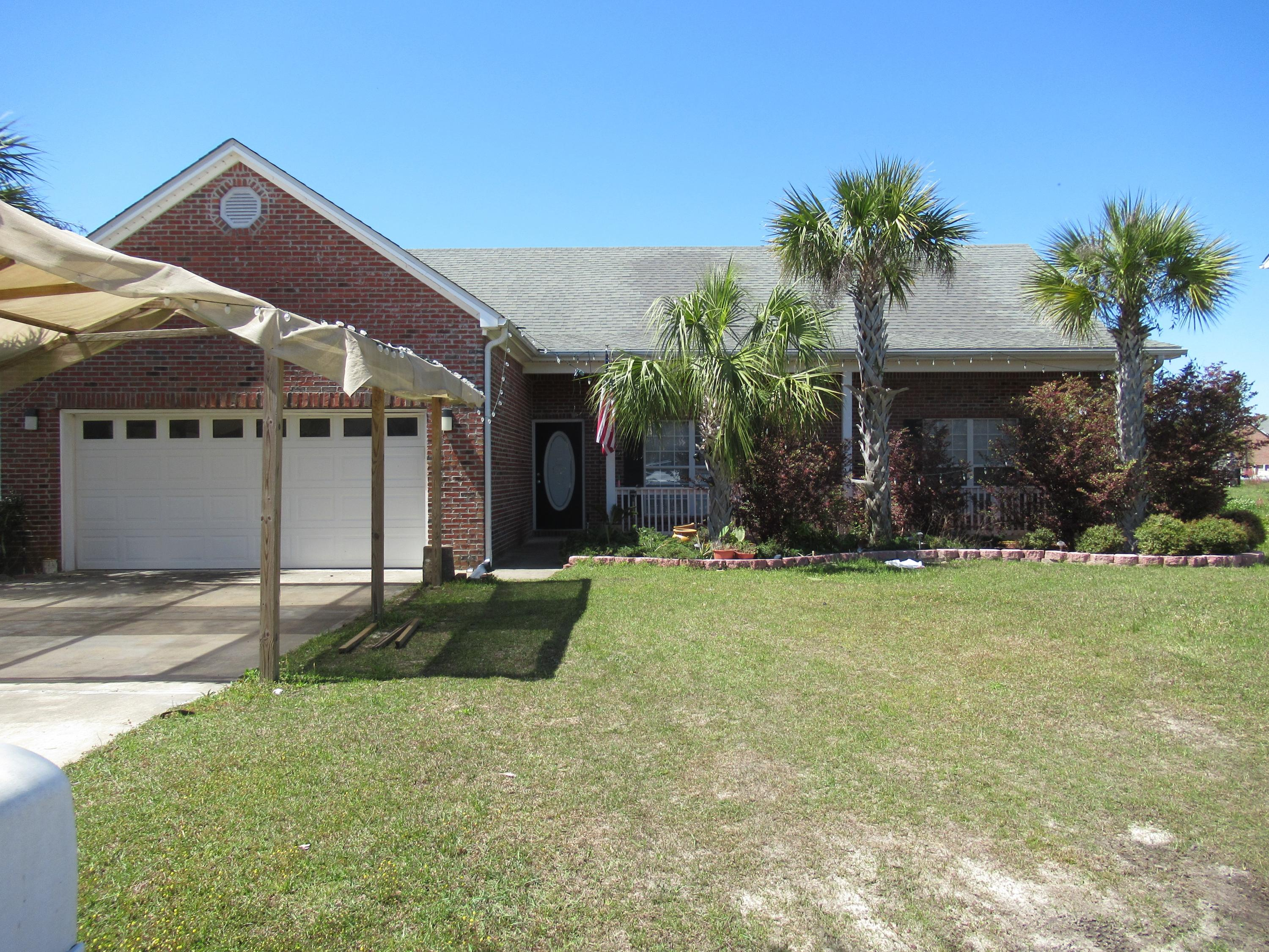 Yea!!!! No HOA's.  AC new in 2018 inside and outside units. Owner will pay the sewer tap fee at closing.This 3 bedroom 2 bath home features a vaulted ceiling and an electric fireplace, nice front porch and backyard patio plus a 2 car garage. Separate dining plus breakfast nook. Oak cabinets and grant countertops.  More pictures when house is cleaned.