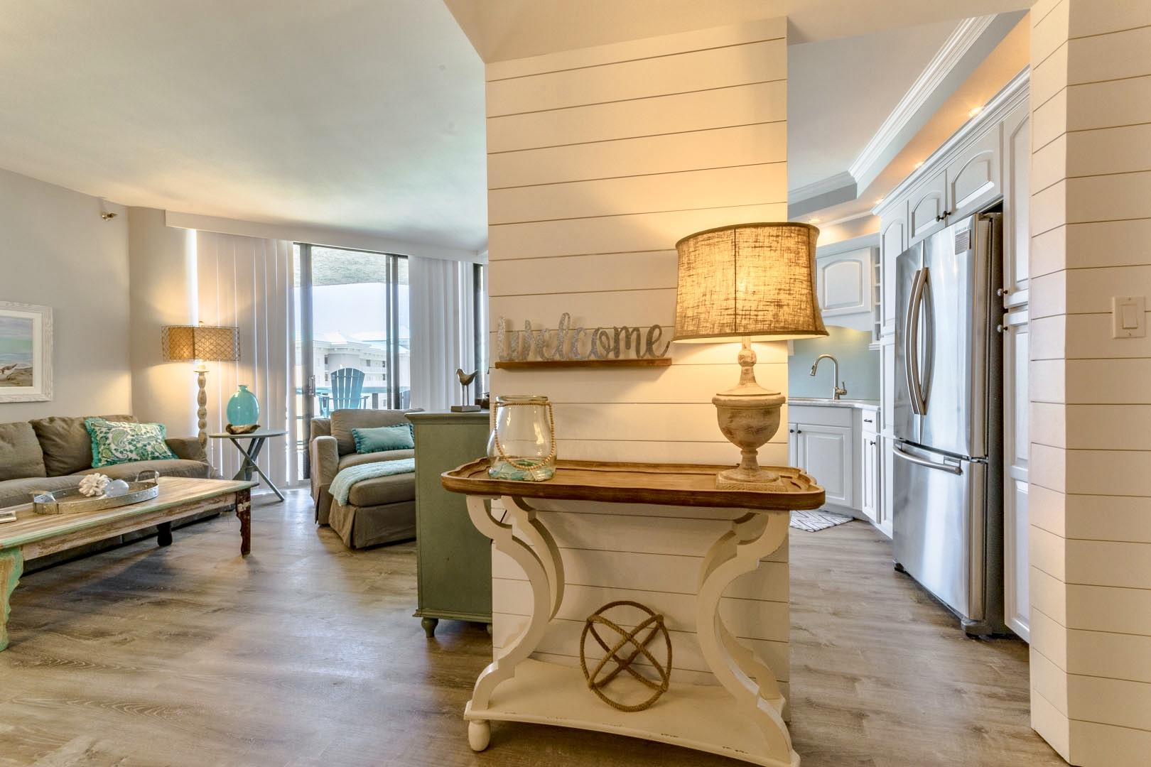 This is a fully renovated, professionally decorated, absolute GEM of a condo in Surfside!  From the moment you step foot into this condo you will immediately sense that no detail has been overlooked.  All new updates include flooring, kitchen/bathroom countertops, kitchen/bathroom cabinetry, tiled baths, paint, shiplap and trim, lighting, appliances, all new furnishings, deck furnishings, linens, decor, and more.  This unit has been professionally decorated and it shows!  A complete list of upgrades are available upon request.  The unit is being offered fully furnished with the exception of 2 dining table chairs. Surfside is located in Miramar Beach on Scenic Highway 98.  Breathtaking views of the white sand beaches and emerald green waters can be enjoyed from the huge outdoor balcony.  And there is a private walkover to the beach from the Surfside pool deck area.  Surfside has a tremendous reputation and a track record for retaining repeat guests.  Because this unit has a lockout bedroom this can be rented as a 3 bedroom, 2 bedroom, or 1 bedroom which allows you to maximize rental income potential.  This unit had gross rental income of over $47,000 in 2018 and with bookings of over $41,000 already for 2019 it is on pace to surpass that number this year.  Surfside amenities also include the Royal Palm Grille restaurant, covered parking garages (one for owners and one for guests), large pool deck with heated pool, sauna, fitness center, lighted tennis courts, basketball, shuffle board, pool side Tiki Hut/beach bar, and spa and hair/nail/facial salon.  The Silver Sands outlet malls, and many restaurant options are just a few minutes away.  If you are looking for a completely turnkey condo right in the heart of it all in popular Miramar Beach, look no further!  Please call today!