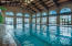 Heated INDOOR Olympic Size Pool.