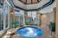 Heated Spa Pool off the Indoor Pool.