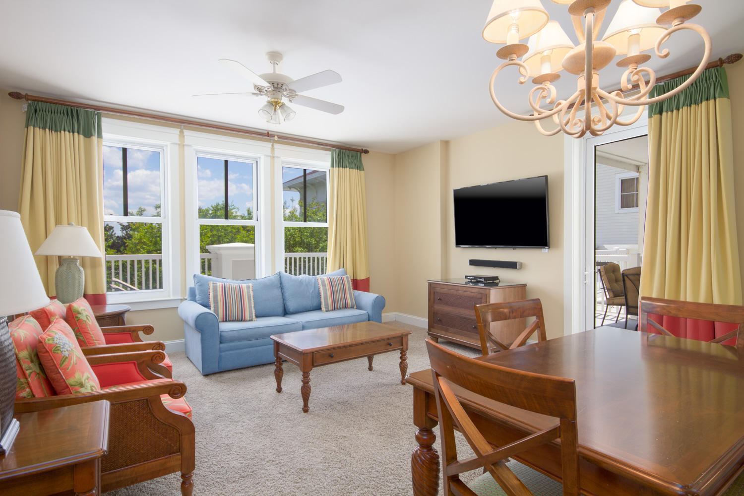 This corner condo with an oversized balcony is perfectly situated steps from the Baytowne Conference Center and activities of The Village of Baytowne Wharf. The prime corner location provides an abundance of windows allowing the sunshine to flood in and embraces the essentials of a second home or vacation rental. The oversized balcony offers a perfect location for entertaining friends and family or simply soaking up the warm Florida sun. Grand Sandestin amenities include a gated underground parking garage, lagoon-shaped pool with kid-friendly sloped entry, hot tub, children's pool, and fitness center on first floor. You're only a quick golf cart ride or shuttle to the beach and the amenities Sandestin Resort has to offer. Completely furnished, rental capable, and waiting for you to enjoy!