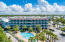 Aerial of Condo & Pool