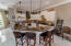 Open and airy kitchen