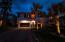 Home looks beautiful at night