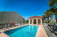 Gulf front community pool
