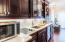 Upgraded Cabinetry and Appliances