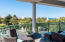 Spacious Balcony with Gulf Views