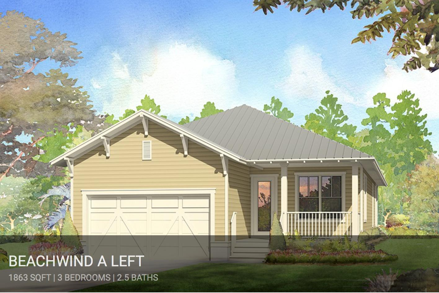 Ask about our $15,000 incentive for Cottage inventory that closes in 2019. Certain restrictions apply.  Lowest priced home in NatureWalk.  The Beachwind plan with 2 car garage home SOUTH of 98. Home is starting soon- still time to choose finishes!  Will be complete this Fall! Cute cottage with gorgeous views of pond/ preserve.  Windows line the entire living room to showcase the views! Living room will have white beams and ship lap running through the main areas.  Spacious master suite with trey ceiling and  bath with double vanity and walk in shower. Walk in closet with plenty of room for two! Our standards are other builders upgrades- shaker cabinets, wood floors throughout, tankless hot water heater, built in appliances with gas cooktop , and much more! Homesite is directly across from access to Point Washington State Forest where you will find miles and miles of trails to hike or bike.  NatureWalk at Seagrove has become the resort style community go to for many! With 2 pools (including a heated lap pool), kiddie pool, fire pits, grill, hot tub AND golf cart shuttle to the beach. Biking distance to Seaside & Watercolor.