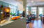 Large Andersen doors and windows provide for Bayou views throughout house