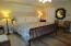Comfortable Master BR with 2 walk-in closets
