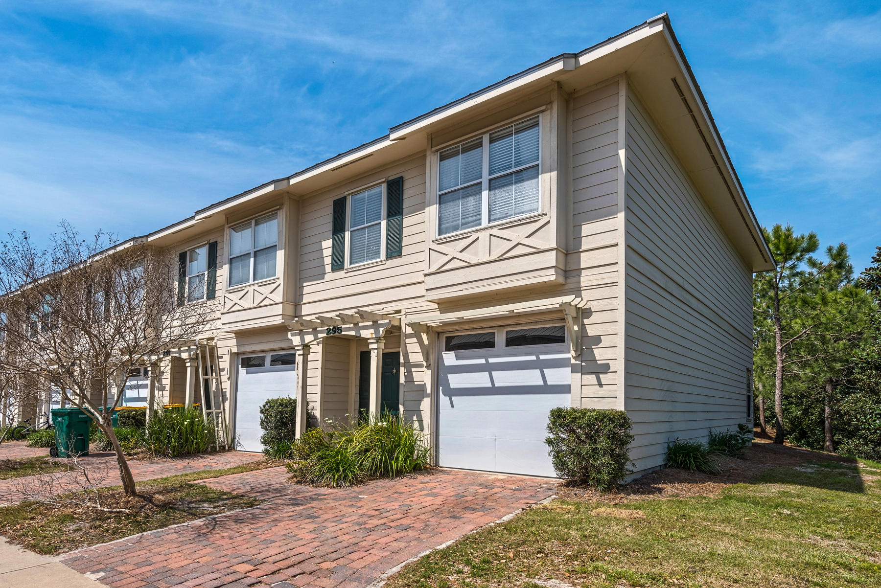 LOCATION, Location, location! This beautiful and low maintenance end unit townhome is centrally located in the HEART of Destin and in the upscale townhome community of Old Bay Village! Enjoy 3 bedrooms, 2.5 baths, granite countertops in the kitchen, 1 car garage, and brick paver driveway. The first floor features the foyer, half bath, kitchen and living areas, as well as french doors leading to the spacious & covered exterior patio! On the second floor, you will find all 3 bedrooms and both full size bathrooms. From the sugar white sand beaches of the Emerald Coast to a plethora of GREAT shopping & dining experiences, Old Bay Village townhomes is conveniently located to all that Destin has to offer. This end unit offers lots of privacy and would make a great primary residence, second home, or long term rental investment property with an existing Tenant already occupying the property until 7/31/19. Call us today to arrange your private showing or with any questions!