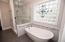 And soaker tub