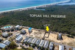 Gulf of Mexico and Topsail Hill Preserve views