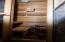 Sauna in Master Bathroom