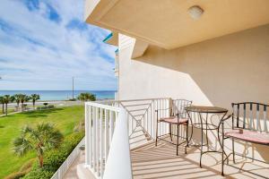 Gulf-view Balcony