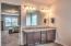 Dual Vanity w/granite countertops
