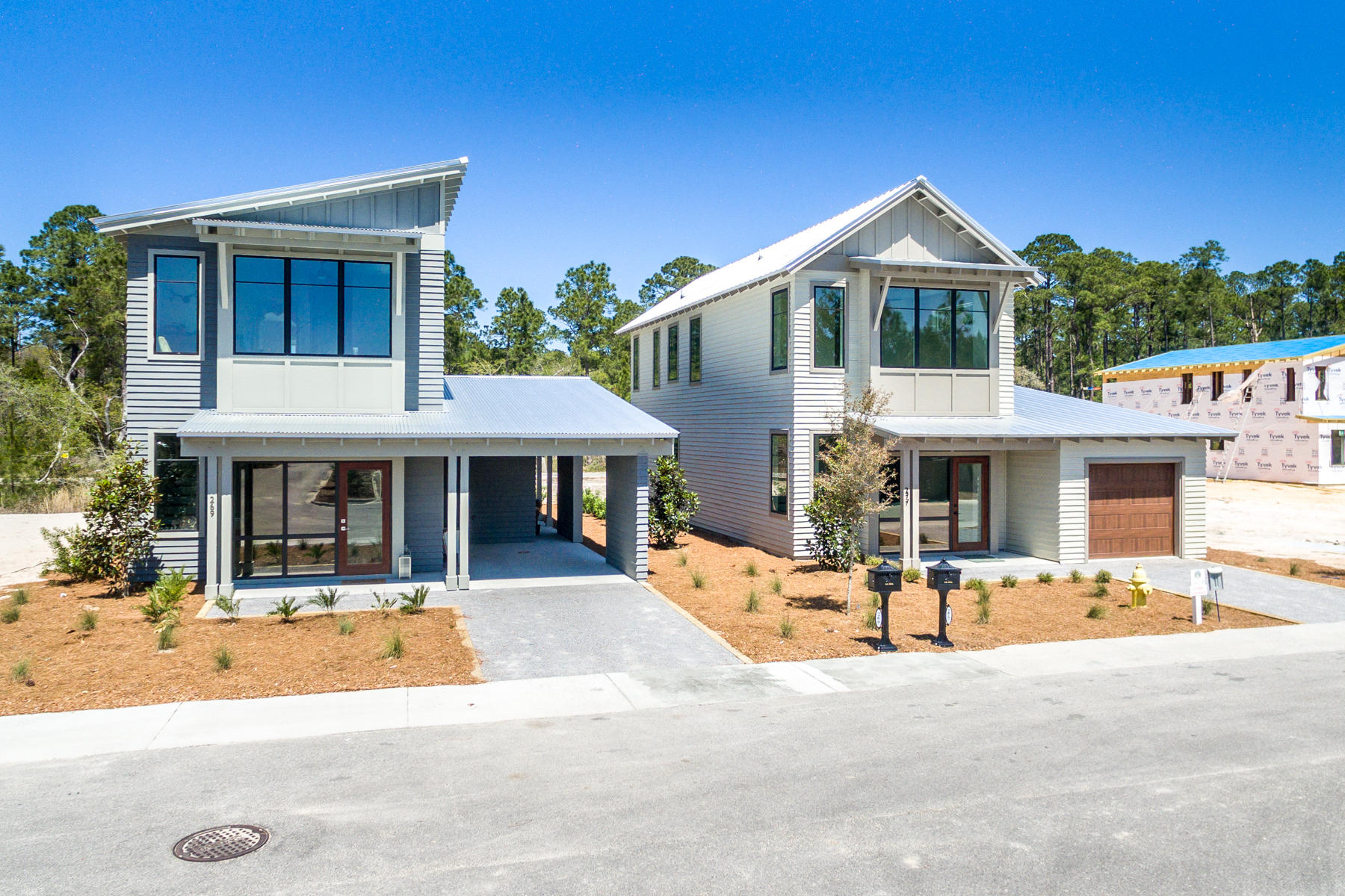 New floorpan with master on first level. You've discovered SOUTH WALTON'S NEXT GENERATION HOMES! Brand-new homes in on Historic Point Washington, thoughtfully designed for today's families. Enjoy the privileges of living the good life as a local. The State Park & school are steps away, and public boat launch just a few blocks. Open floor plan and outdoor ''rooms'' are part of the way you want to live NOW. Select your fixtures and colors, and enjoy a new home built your way. High quality construction with storm-rated windows. Ask about our Closing Cost assistance. Photos are of similar model. This home is to-be-built.
