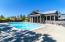 Generously sized pool deck.