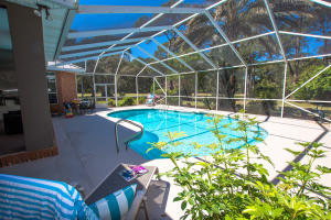 Beautiful pool with screened lanai!
