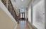 Downstairs stairway