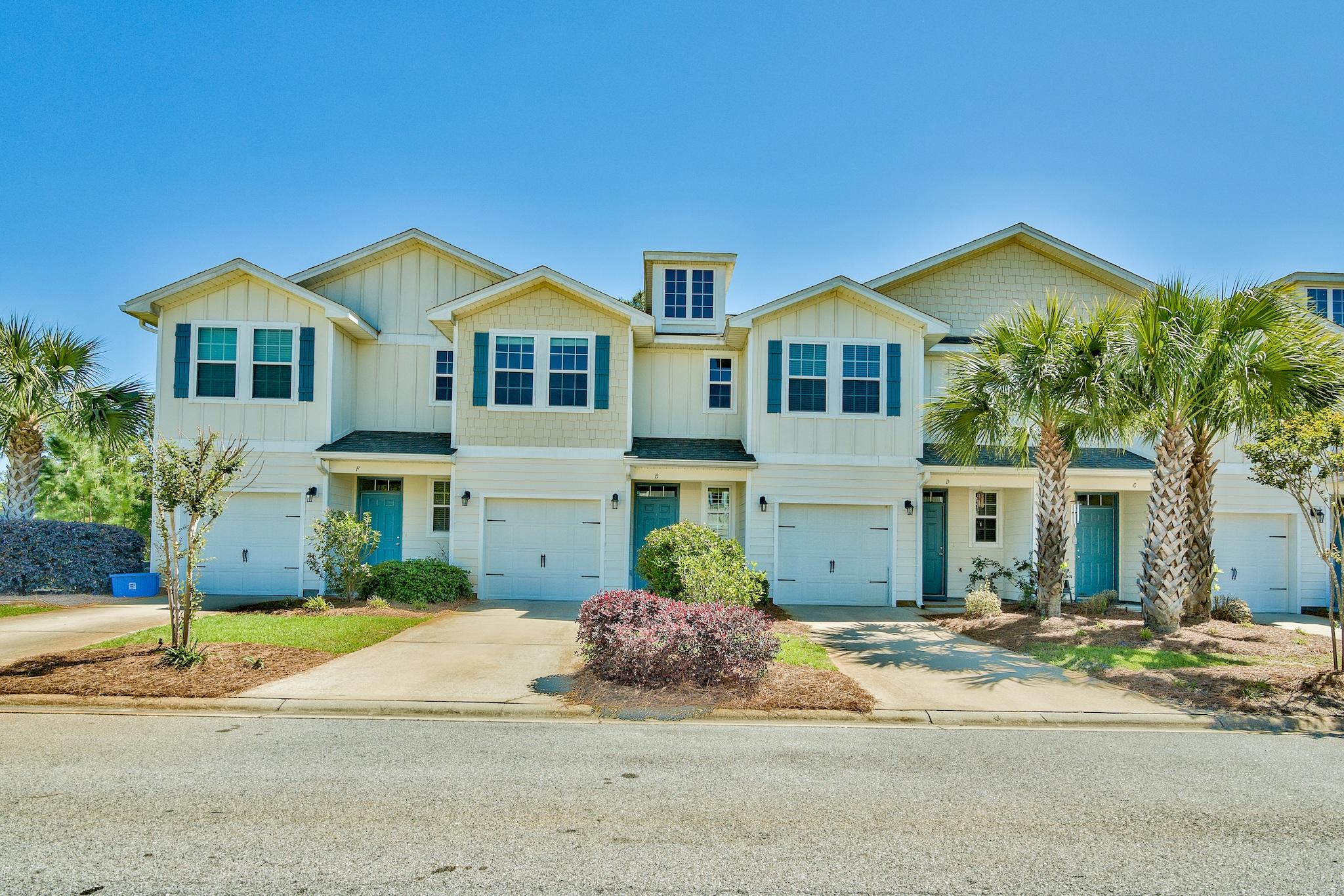 Whether you're looking for a starter home, beach retreat and/or investment property, be sure to take a look at this ideally located home. Located just a mile from South Walton's beautiful beaches and scenic Highway 30A, this three bedroom, 2.5 bath townhouse is only five years old and boasts new paint and new carpet throughout. You will love the social qualities of the kitchen, dining and living room as well as a half bath on the main floor. Upstairs, you will find a large master with a walk-in closet and updated master bathroom. Two more bedrooms and another full bathroom are a perfect size for your family and/or guests to share. Investors will love the rental possibilities and low maintenance. No more than a 5 to 10 minute drive from everything 30A has to offer as well as Sandestin's beaches and resorts, come by and see this amazing deal today!