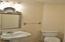 Half Bathroom off of Laundry Room