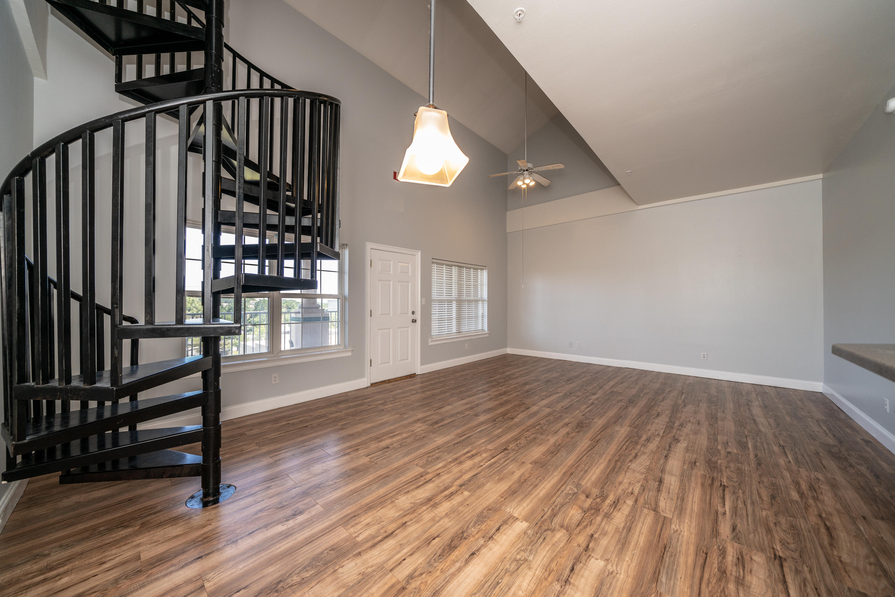 REDUCED!! SELLER IS MOTIVATED!!  This spacious, two story, 1801 square foot condo is centrally located between the Destin Commons and the Sandestin Outlets and just minutes from the beautiful beaches of the Emerald Coast! This condo features 20 foot, vaulted ceilings offering an open living/dining area complete with a breakfast bar overlooking the kitchen. This unique home includes a spiral staircase leading up to the spacious loft including an en suite bath with a stand up shower, a bathtub, a walk in closet.  The entire condo has been painted top to bottom has brand new stainless steel appliances and new carpet throughout!  (View the Virtual Tour) WAIT THERE IS MORE!Downstairs, the large master bedroom features an en suite master bathroom complete with a stand up shower, jacuzzi tub a double vanity sink and a walk in closet. The master bedroom and the other guest bedroom access the balcony through the french doors! Did I mention the 3rd full bathroom in the hallway and plenty of parking for your guests? Whether you are looking for a great starter home, a second home or an investment property (great long term rental, currently rented at $1850.00/month), this home is offered less than $125.00 per square foot and is worth every penny. Call me for your showing today!
