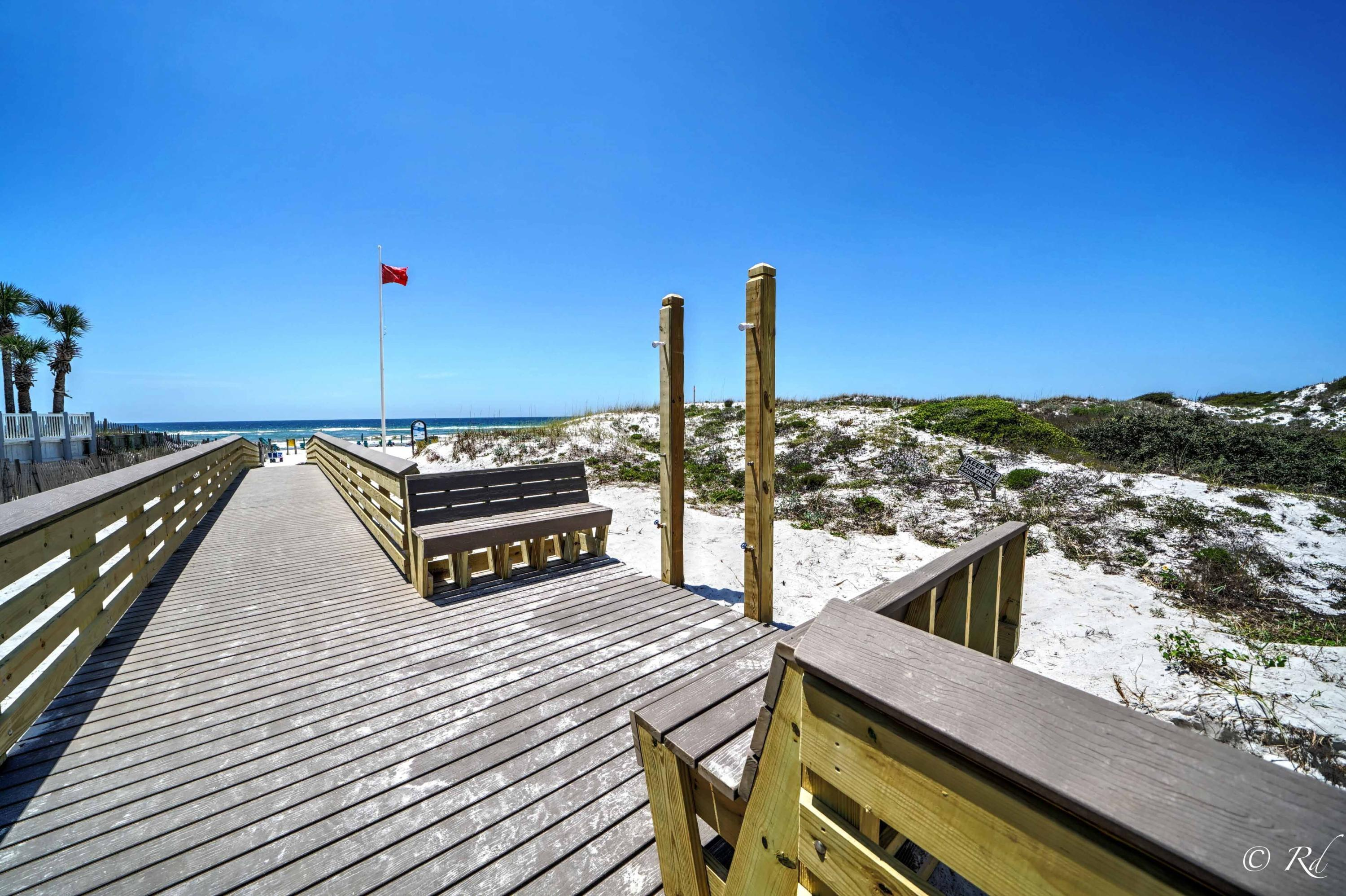 Live off  Scenic Hwy 30a in the heart of Seagrove centrally located between Rosemary Beach and Seacrest Beach.  Yes!!! For under 380k... and just steps away to a public beach access.This beautiful Beachside condo sits quietly beside a rare coastal Dune Lake with bedroom views and lake side grilling with a pool to cool off in just steps away.   Not to mention a public beach access in less than a 5 minute walk!  This home away from home has been remodeled with the beach appeal of every beach lovers taste all for your  enjoyment.  Modern kitchen with quartz counter tops, back splash and stainless steel appliances.  Currently on rental program for an immediate return on your investment.  Sleeps 9 Don't miss out on this priced to sell Beachside condo.