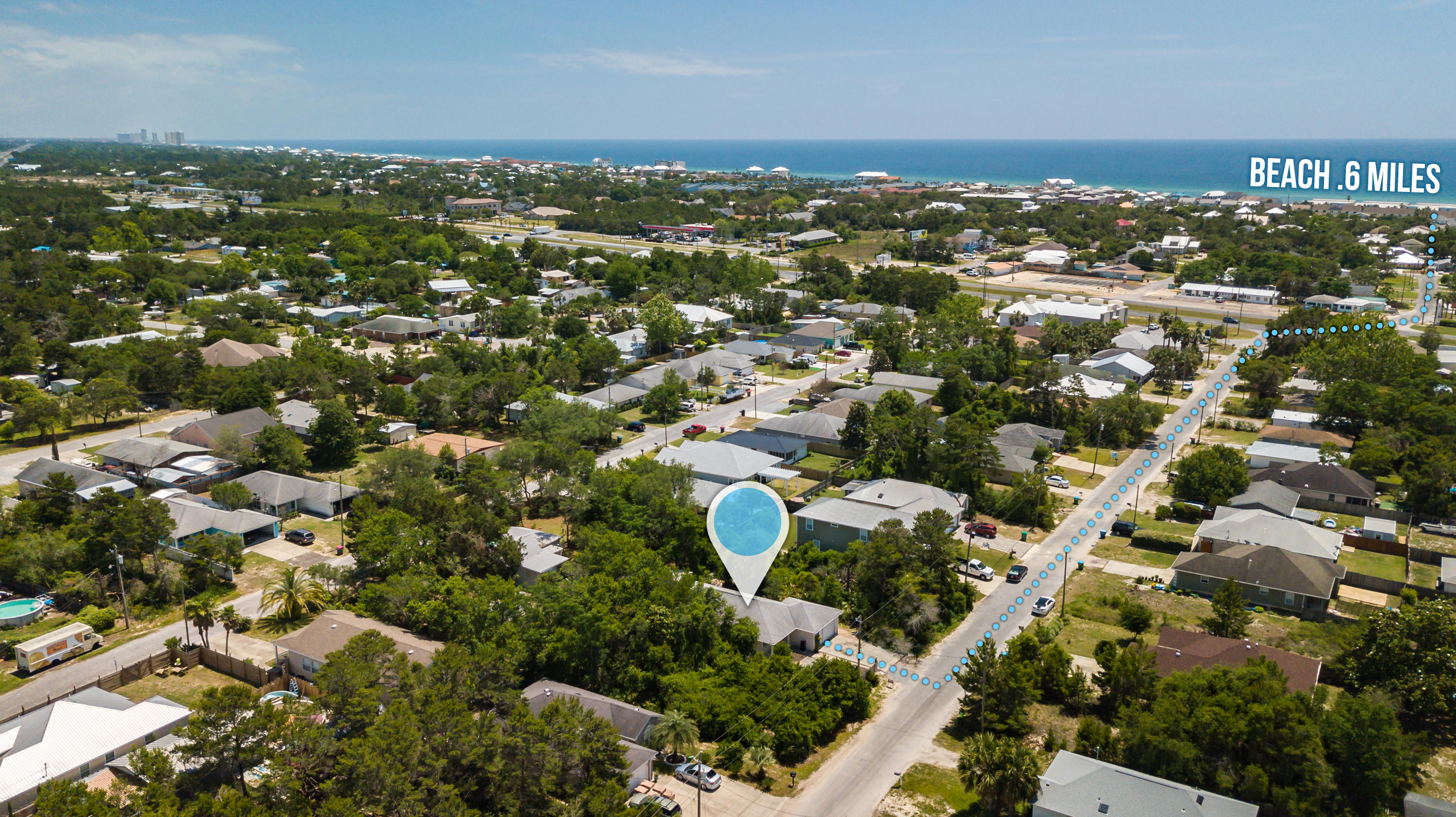 MOTIVATED SELLER! Make an offer!! This 3BD/2.5BA home is located in the prime location of Inlet Beach Heights. This is a great opportunity to live within walking distance of Lake Powell, an 800 acre coastal dune lake that outfalls into the Gulf of Mexico and just a little over a 1/2 mile from public beach access points. This home is ideally located in a growing area of Inlet Beach within minutes of major shopping malls, exclusive restaurants along Scenic Hwy 30A, live entertainment and Camp Helen State Park. This home has so much potential. With extensive TLC, it will make for a great primary residence or investment rental property.