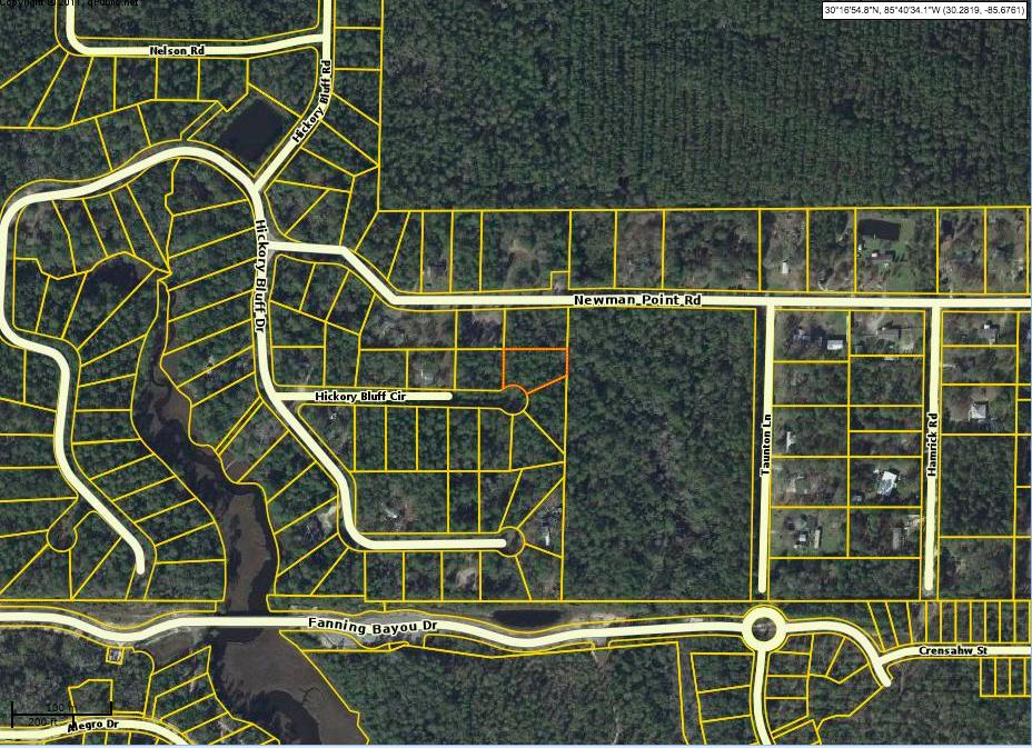 Lot 9 Hickory Bluff Circle, Southport, FL 32409