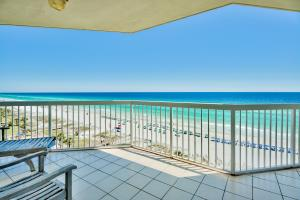 We have the pleasure of listing this extraordinary 4-bedroom unit which, is available in limited numbers. This majestic unit has a magnificent view of the aquamarine waters for the Gulf Coast. This ONE OWNER unit has never BEEN RENTED and had a new Air Conditioner installed in 2018!