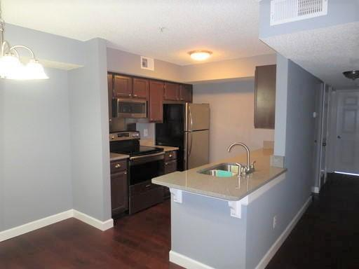 Recently renovated third floor corner unit. New stainless steel appliances, granite counter tops in kitchen and baths. HVAC and water heater installed 9/2017.  Current rental rate is $1550. Fitness center, pool and across the street is the dog park. Great location.