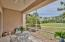 Screened Porch overlooking the golf course