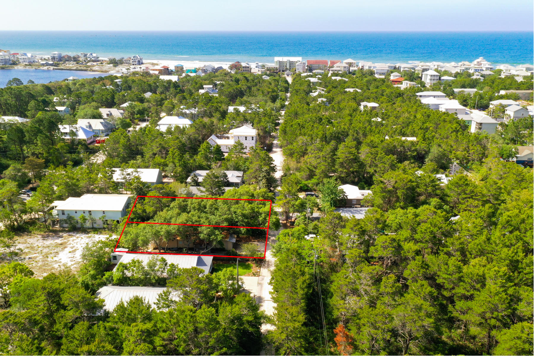 INCREDIBLE LOCATION IN OLD SEAGROVE SOUTH OF 30A! LOT 5 & 8 sold together. Enjoy a short walk or bike to the beach. Incredible oak trees that could provide the perfect opportunity to build your dream vacation home or primary residence.  No HOA or build out time. Lot dimensions 100x108.  All info and measurements are deemed to be accurate, but all info should be verified by buyer and/or buyers agent.